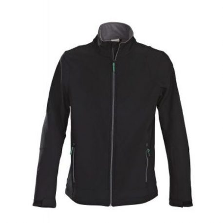 Printer Trial Softshell Jacket zwart