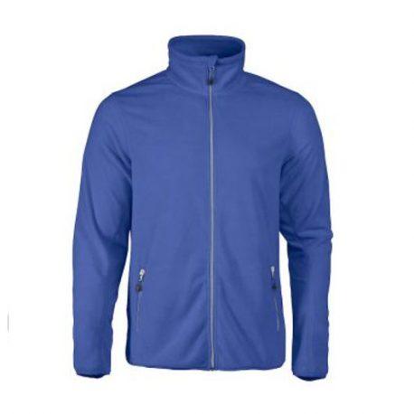 Printer Twohand Fleece Jacket blauw
