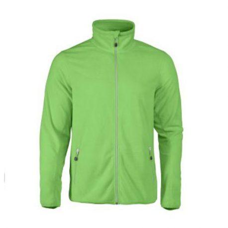 Printer Twohand Fleece Jacket limoen
