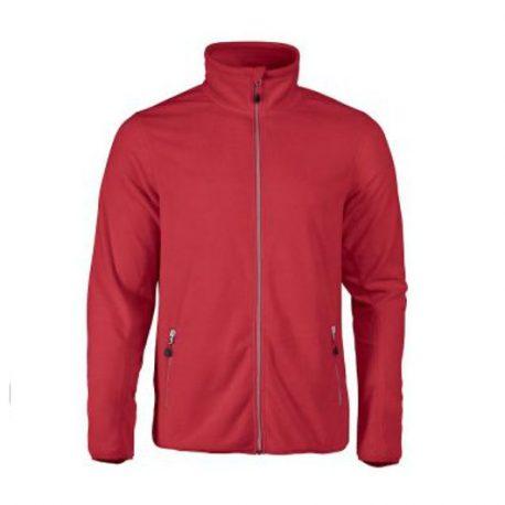 Printer Twohand Fleece Jacket rood