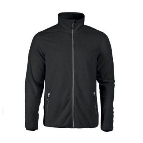 Printer Twohand Fleece Jacket zwart
