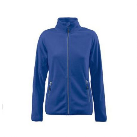 Printer Twohand Lady Fleece Jacket blauw