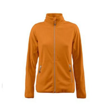 Printer Twohand Lady Fleece Jacket oranje