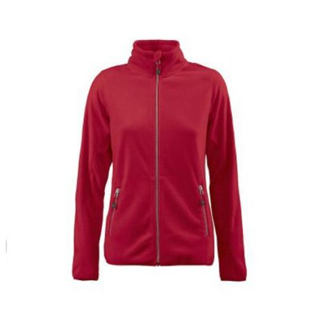 Printer Twohand Lady Fleece Jacket rood
