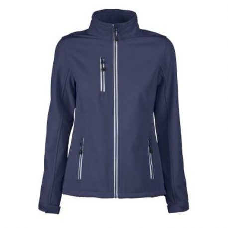 Printer Vert Lady Softshell Jacket marine