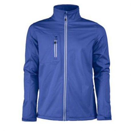 Printer Vert Softshell Jacket blauw