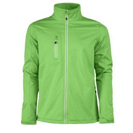 Printer Vert Softshell Jacket limoen