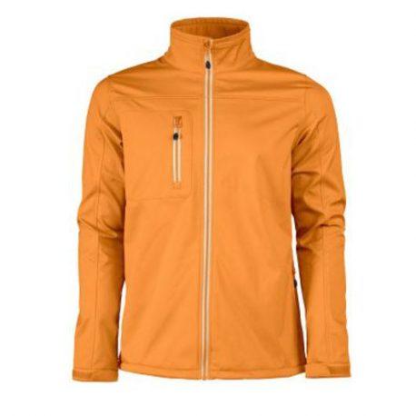 Printer Vert Softshell Jacket oranje