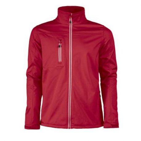 Printer Vert Softshell Jacket rood