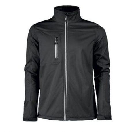 Printer Vert Softshell Jacket zwart