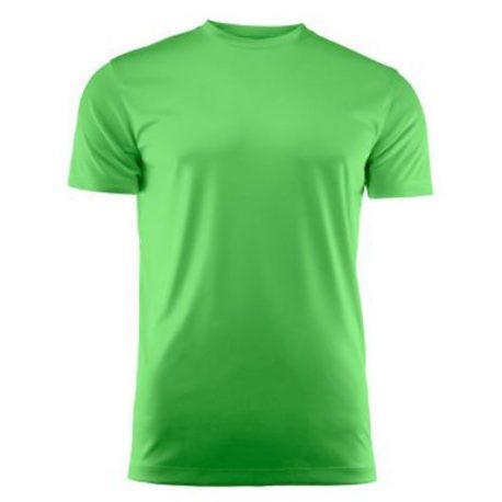 Run Active t-shirt limoen
