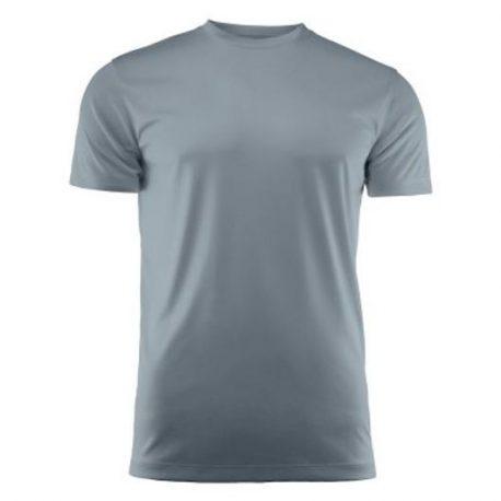 Run Active t-shirt metaalgrijs