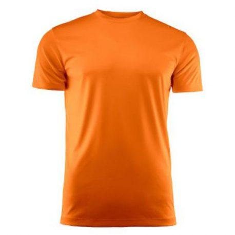 Run Active t-shirt oranje