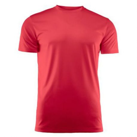 Run Active t-shirt rood