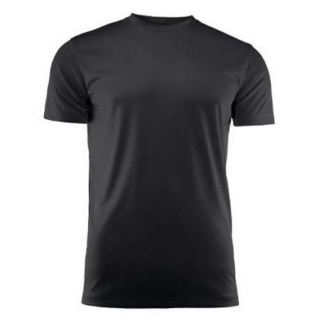 Run Active t-shirt zwart