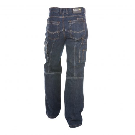 DASSY® Knoxville JEANSBLAUW (achterkant)