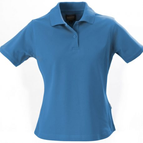 Harvest Albatross Ladies Stretch Polo helderblauw