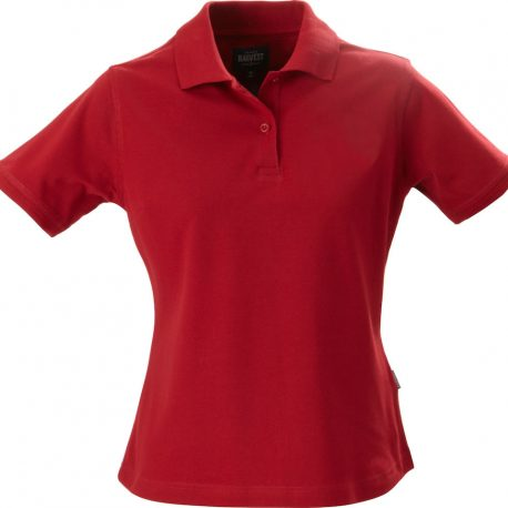 Harvest Albatross Ladies Stretch Polo rood