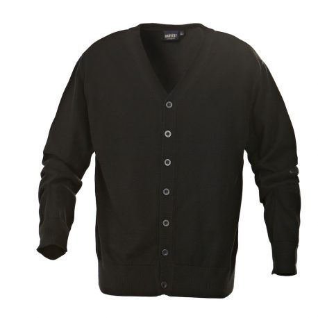 Harvest Knowville Cardigan zwart