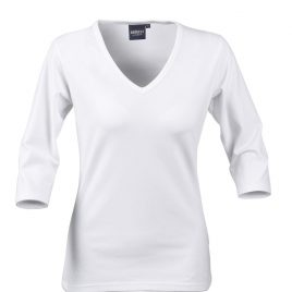 Harvest Lynn Ladies Stretch Top wit