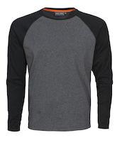 MacOne Alex T-shirt grijs mêlée/zwart