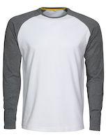 MacOne Alex T-shirt wit/grijs mêlée