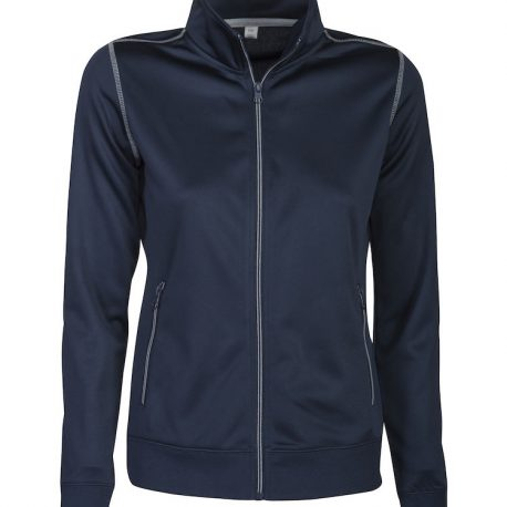 Printer Duathlon Lady Sweatshirt Jacket marine
