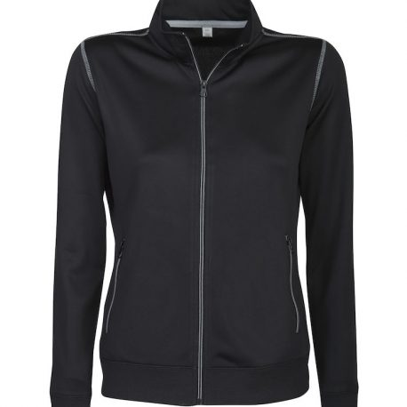 Printer Duathlon Lady Sweatshirt Jacket zwart