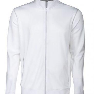 Printer Duathlon Sweatshirt Jacket wit