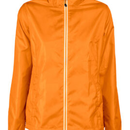 Printer Fastplant Lady Windbreaker oranje