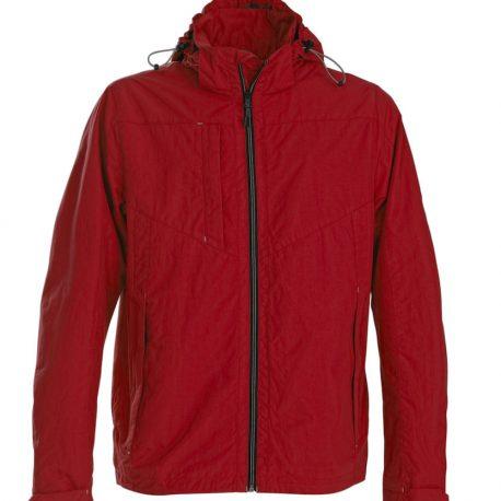 Printer Flat Track Jacket rood