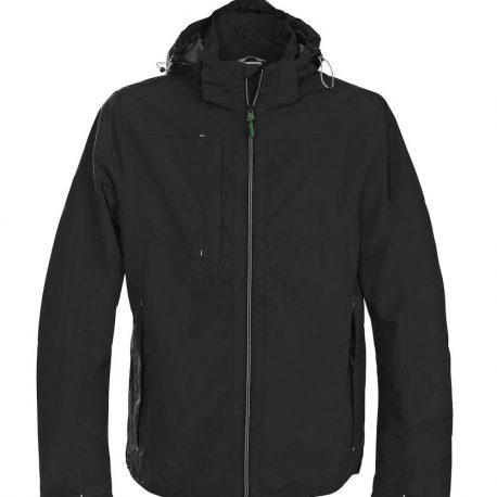 Printer Flat Track Jacket zwart