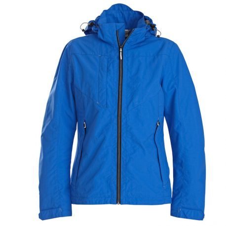 Printer Flat Track Lady Jacket blauw