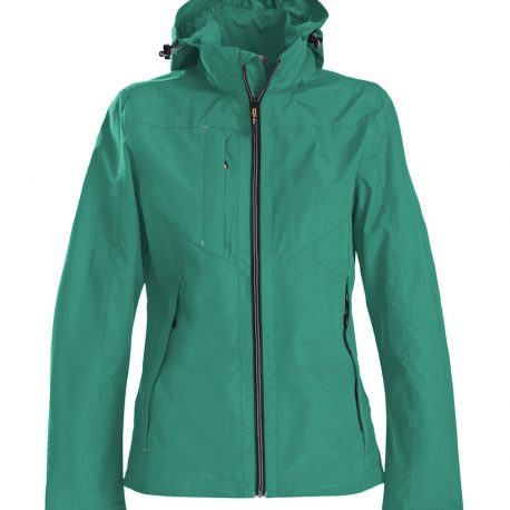 Printer Flat Track Lady Jacket groen