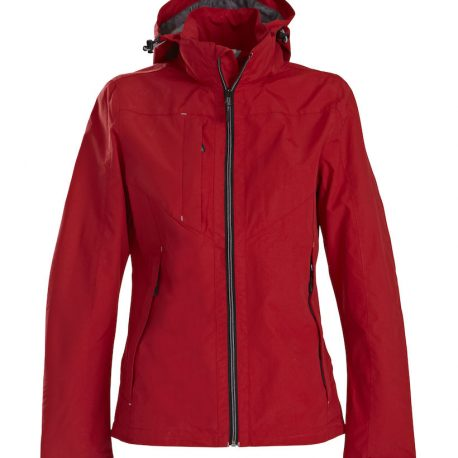 Printer Flat Track Lady Jacket rood
