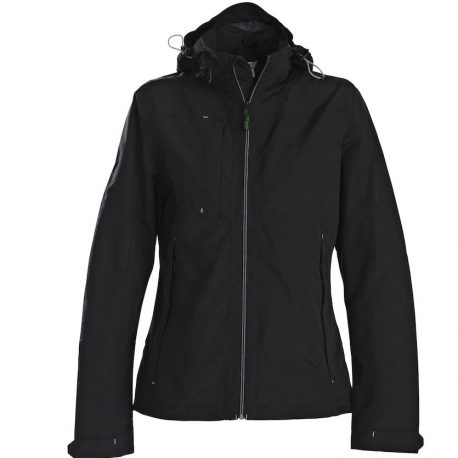 Printer Flat Track Lady Jacket zwart