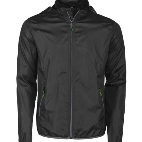 Printer Headway Windbreaker zwart