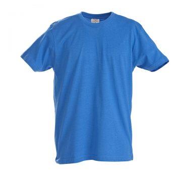 Printer heavy t-shirt RSX oceaanblauw