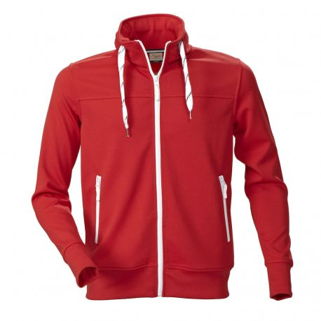 Printer Jog Sporty Sweatshirt rood