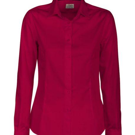 Printer Point Lady Shirt rood