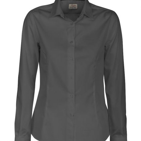 Printer Point Lady Shirt staalgrijs