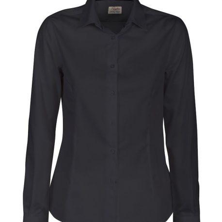 Printer Point Lady Shirt zwart