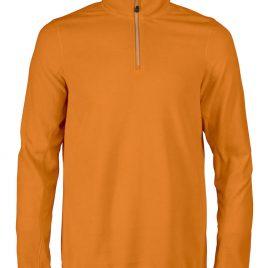 Printer Railwalk Fleece halfzip oranje