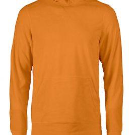 Printer Switch Fleece Hoodie oranje