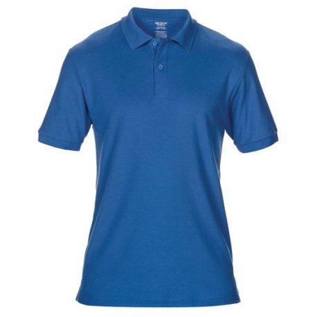 DryBlend Adult Double Piqué Polo royale blue