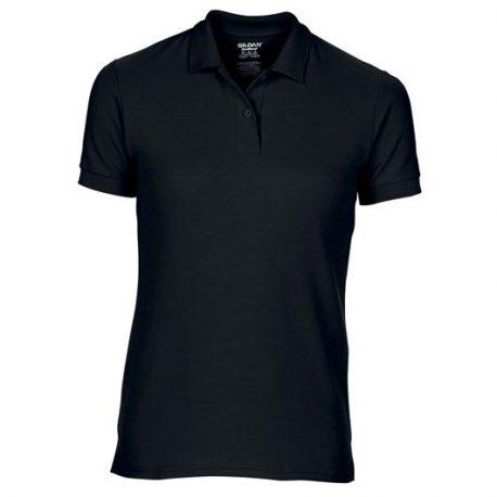 DryBlend Ladies' Double Piqué Polo black