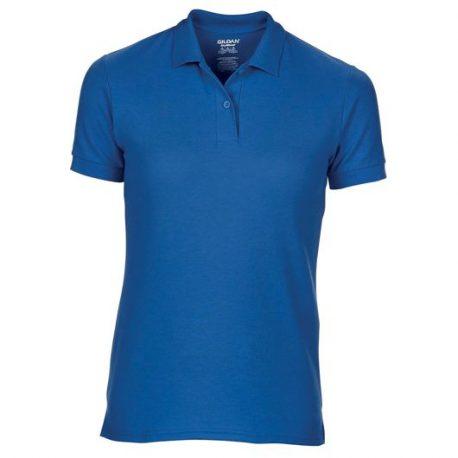 DryBlend Ladies' Double Piqué Polo royale blue