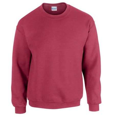 Heavy Blend Adult Crewneck Sweatshirt ANTIQUECHERRYRED