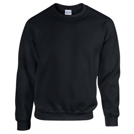 Heavy Blend Adult Crewneck Sweatshirt BLACK