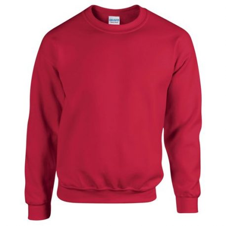 Heavy Blend Adult Crewneck Sweatshirt CHERRYRED